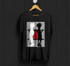 Gon Freecss Killua Zoldyck Hunter X Hunter HxH Anime T-Shirt Unisex Adult Tees #Unbranded #ShortSleeve