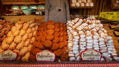 Sweet Pastries at the Rathaus Christmas Market in Vienna
