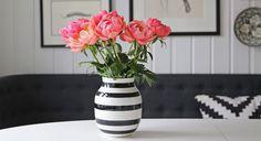 Hvordan komme i gang med feng shui | Friske blomster i glade farger gjør underverker for energien i et rom!