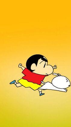 Shinchan shiro Shin Chan Wallpapers, Crayon Shin Chan, Cartoon Characters, Fictional Characters, Cute Cartoon Wallpapers, Doraemon, Shiro, Studio Ghibli, Art School