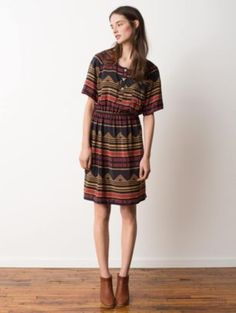 Pendleton Woolen Mills: NESIKA SILK DRESS