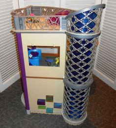 """2004 High Rise Pad for 10"""" Bratz Huge House Loaded w Accessories Furniture 