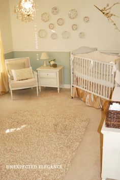 Tips for designing a nursery or saving money on any room!