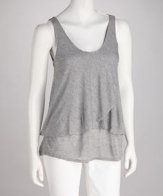 Cute Gray Nicole Tank by Big Star