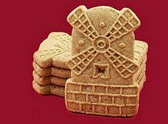 speculaas...windmill cookies!...crisp, spicy, soooo dunkable! Loved them.  The imitation I find at home is disappointing!