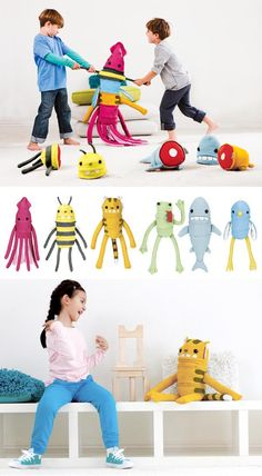 pepperpot.cz - all about beautiful things for children, babies and teenagers and creative life with Them: Creative plush toys Clump-o-rogue