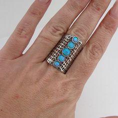 Dimensione Hadar mano artigianale Art argento di hadarjewelry