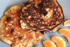 Healthy Egg Blueberry Pancakes