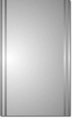 "Zaca 43-2-26 Mintaka 26"" Beveled Double Mirror Medicine Cabinet Accessory Medicine Cabinets Float Plate"