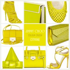 Now Trending Citrine Jimmy Choo Accessories Big Bags, Small Bags, Beautiful Outfits, Beautiful Clothes, Her Style, Color Inspiration, Jimmy Choo, Beaded Jewelry, Shoe Boots