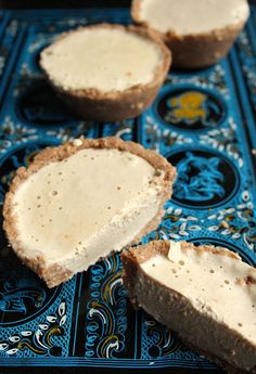 Sugar free, grain free, gluten free and no baking necessary: These creamy, velvety No Bake Coconutty Pies are easy to make and set in the freezer