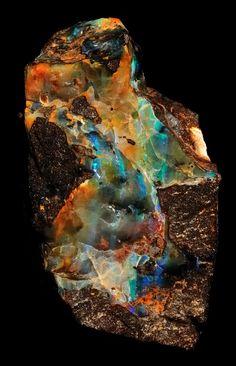 Lightning Ridge Opal Specimen | by Wood's Stoneworks and Photo Factory