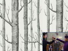 Papier peint Woods Cole & son, 115€/rouleau H100xL52 cm