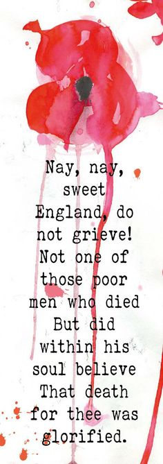 memorial day poppy poem