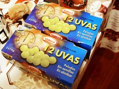 Eat 12 grapes in Spain for good luck on New Year's Eve