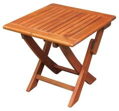 International Concepts International Concep Patio Side Table - Brown