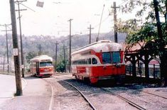 Street car to West View Park with Danceland on the right. Conneaut Lake, Gone Days, Light Rail, Pittsburgh Pa, Ocean City, Public Transport, Historical Photos, Train, History