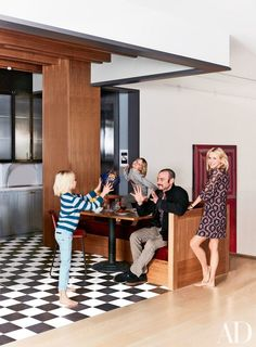 Naomi Watts Manhattan loft renovation by design firm Ashe + Leandro   #insidecelebrityhomes #celebritieshomes #mostexpensivecelebrityhomes   See also: http://www.celebrityhomes.eu/