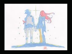 Dominic and Anemone --Eureka Seven--