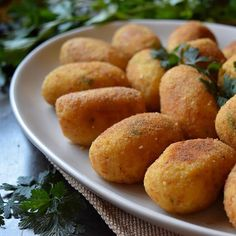 Is there a secret to making the Best Homemade Italian Potato Croquettes? Only one way to find out.