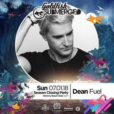 1 last time! It's the season closing party for @submerged_sunday at @shimmybeach - ft. @goldfishlive @matjoemusic and myself!  P.S. I'm on closing duty so bring your dancing shoes and your party hats - we getting festive!