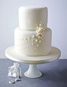 Cascade of Pearls Sponge Cake | M&S