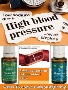 High Blood Pressure    Distributor # 1555429  www.youngliving.org/black45