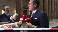 Hier meine erste Reaktion zum Ausgang der US-Präsidentschaftswahl (Interview in der Säulenhalle des Parlaments):