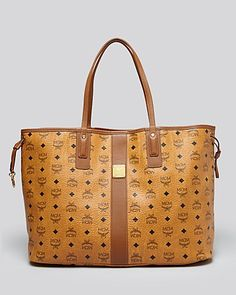 This may be my next bag. MCM Tote - Heritage Liz Reversible Shopper Large | Bloomingdale's
