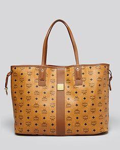 This may be my next bag. MCM Tote - Heritage Liz Reversible Shopper Large | Bloomingdale's