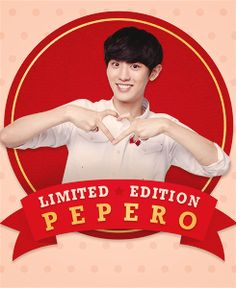 Chanyeol for LOTTE PEPERO