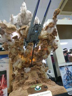 Landscape Model, Star Wars Models, Star Wars Images, Star Wars Wallpaper, Figure Photography, Model Building, Art Model, Trash Polka, Star Wars Art