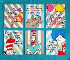 254 Best Dr Seuss Images Canvas Art Canvases Dr Suess