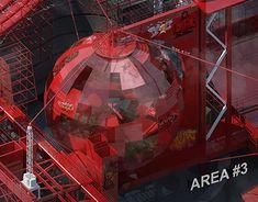 The Stolen City (Concept stage / Rhinoceros 5, Graphic Design Illustration, New Work, Adobe Illustrator, Stage, Behance, Photoshop, Concept, Architecture