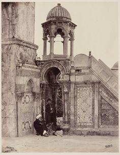 ::::    PINTEREST.COM christiancross    ::::   من ساحات المسجد الاقصى 1900 Inside Al-Aqusa mosque 1900