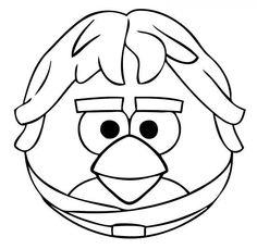 Angry Birds Star Wars Luke | Die Cut Vinyl Sticker Decal | Sticky Addiction