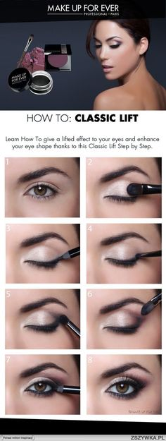 How to Give Eyes a Classic Lift