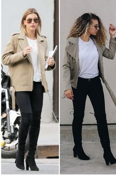 9 Outfits to Copy if You Want to Dress Like a Model - MY CHIC OBSESSION Fall Fashion Outfits, Casual Fall Outfits, Simple Outfits, Chic Outfits, Fashion Capsule, Fashion Hacks, Hipster Outfits For Women, Women's Fashion, Casual Winter