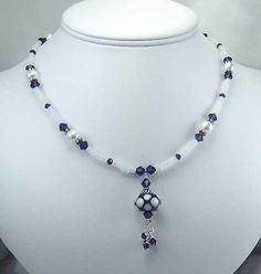 beaded necklaces | beaded jewelry necklace n157 jades creations beaded jewelry home page