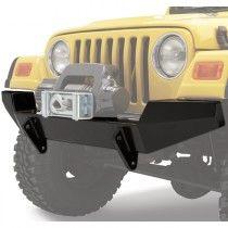 Bestop Highrock 4x4 Front Bumper - Black Satin Jeep Wrangler Bumpers, Jeep Bumpers, Jeep Stuff, Black Satin, 4x4, Trucks, Truck