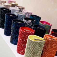 Swarovski Power Bag colorama. Which one would you pick for your red carpet moment? #tiff13