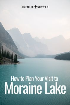 Plan your visit to Moraine Lake to avoid long lines and wasted time! Things to do in Banff, things to do in Alberta, things to do in the Canadian Rockies. Banff, Summer in Banff