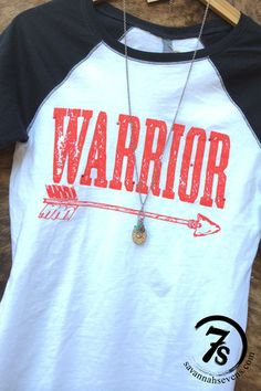 The Warrior  – graphic baseball tee from Savannah Sevens Western Chic