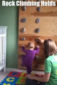 Rock Climbing Holds Features: These climbing rocks are designed for childrens playsets and should not be used for rock climbing walls or any environment over 6 feet tall. These rock climbing holds ar So Cute Baby, Baby Love, Cute Kids, Fun Baby, The Babys, Baby Play, Baby Kids, Funny Babies, Cute Babies