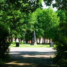 Daugavpils (Dinaburg) Fortress - the garden