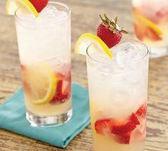 Strawberry Lemonade Cocktail Recipe >> #WorldMarket Cheers