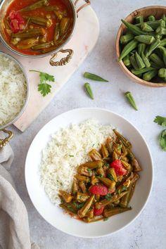 Okra Recipes, Beef Recipes, Vegetarian Recipes, Healthy Recipes, Apple Recipes, Healthy Eats, Middle East Food, Middle Eastern Recipes, Ground Beef Kabob Recipe