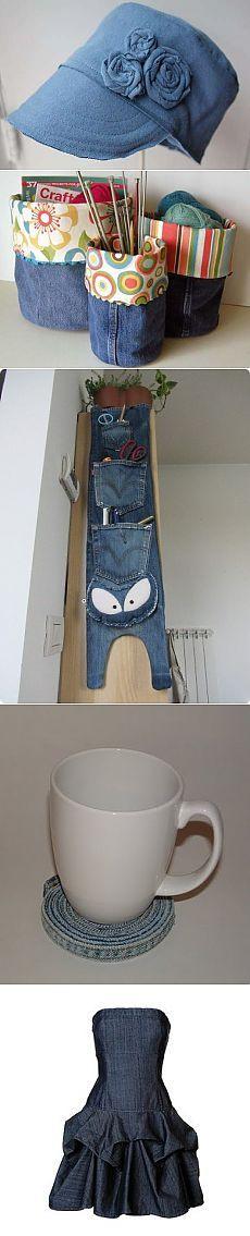 Топ-100: Что можно сделать из старых джинсов ― Женский журнал WomanWay