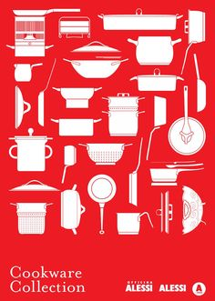 Cookware Collection  Alessi Pots and Pans