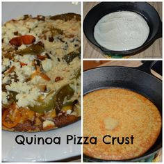 Growing in Grace: Quinoa Pizza Crust